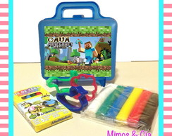 Kit massinha Minecraft