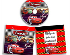 CD DVD Carros + Envelope + Grava��o