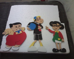 Decora��o festa infantil Turma Do Chaves