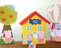 Kit Decora��o Peppa Pig
