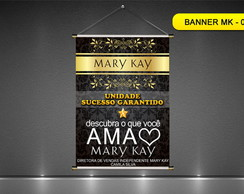 BANNER MARY KAY - 60X90CM