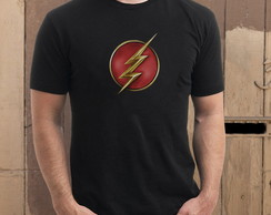 Camiseta The Flash: Emblema Nova S�rie
