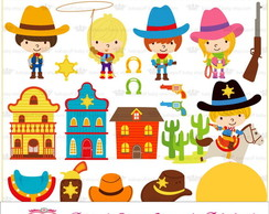 PAPEL DIGITAL COWBOY 1-9