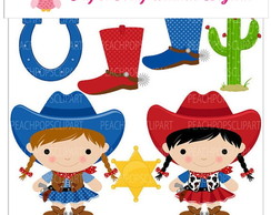 PAPEL DIGITAL COWGIRL 1-20
