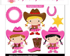 PAPEL DIGITAL COWGIRL 1-21
