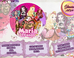 R�tulo Redondo Ever After High