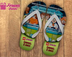 CHINELO INFANTIL - SCOOBY DOO