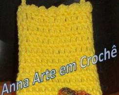 Porta Celular - Amarelo