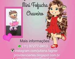 Curso Virtual Mini Fofucha Chaveiro