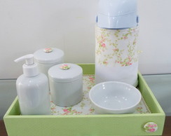 Kit Porcelana Flores do Campo II Po�
