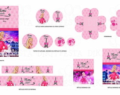 Barbie Moda e Magia Kit Digital 25 pe�as