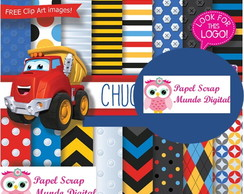 PAPEL DIGITAL CHUCK E FRIENDS 26-8