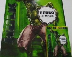 kit de colorir Hulk