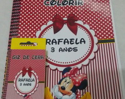 kit de colorir minnie
