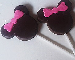 Pirulitos de Chocolate Minnie Mickey