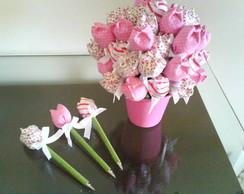 Caneta Tulipa Perfumada