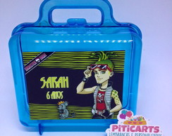 Maleta Acr�lico Monster High meninos