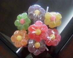florzinhas de bala de goma
