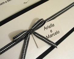 """Convite Casamento """" Arielle e Marcelo """""""