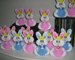Coelha ou coelho porta guloseimas em EVA