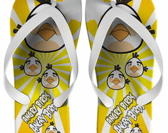 Chinelo Anivers�rio Infantil Angry Birds