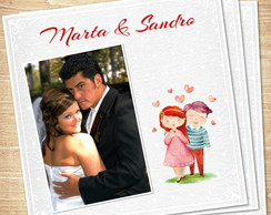 Cart�o Dia dos Namorados Happy Couple