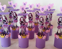 Enfeites de mesa Ever After High