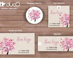 duoO eco 001 - cart�es, tags, adesivos