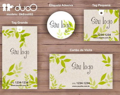 duoO eco 002 - cart�es, tags, adesivos