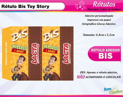 R�tulo Bis Toy Story Xerife Woody