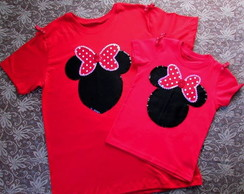 Camiseta Minnie Vermelha!