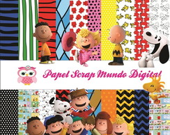 PAPEL DIGITAL SNOOPY 26-18