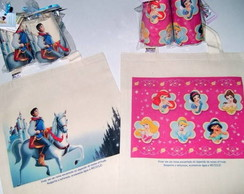 Princesas e Pr�ncipe - Eco Bag infantil