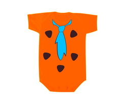 Camiseta OU Body - Beb� Flinstones