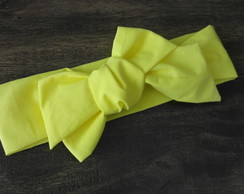 Headwrap Amarelo - turbante 337