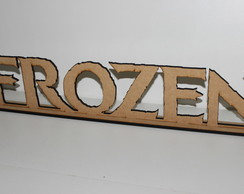 Frozen Com Base Kit Festa Proven�al MDf