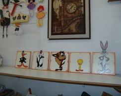 Border Quadros Looney Tunes