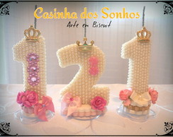 Velas Decoradas Super Luxo