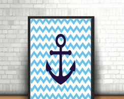 P�ster Navy chevron