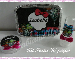 Kit Festa 30 pe�as Monster High