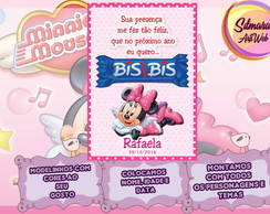 Cart�o de agradecimento Minnie
