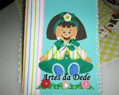 Caderno Menina
