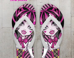 Chinelo Festa Infantil Monster High