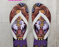 Chinelo Monster High Infantil Clawdeen