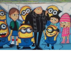 Painel do Minions.