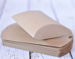 Caixa travesseiro kraft - Pillow Box