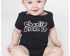 Body de beb� Charlie brown jr