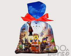 Saquinho Lego Movie 15cm X 20cm
