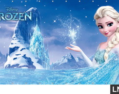 Painel Frozen 1,50x1,00m Anivers�rio