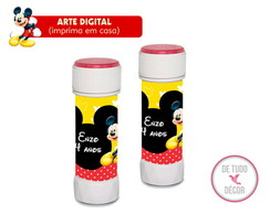 Bolha de sab�o 60ml Mickey